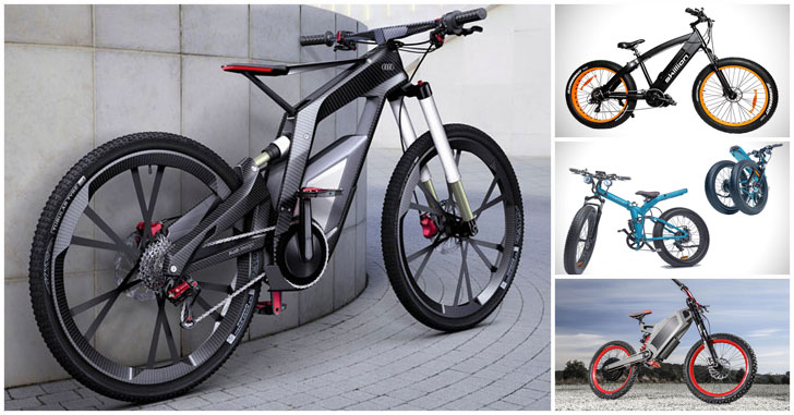 13 Cool Electric bikes